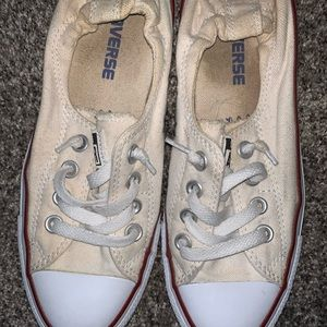 Converse size 6.5 with slouch backs
